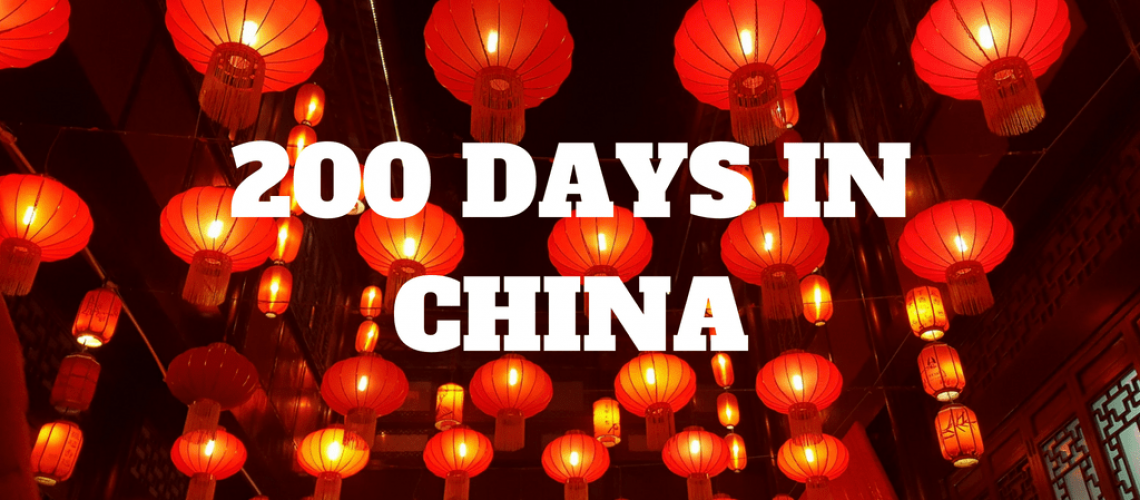 200 DAYS IN CHINA
