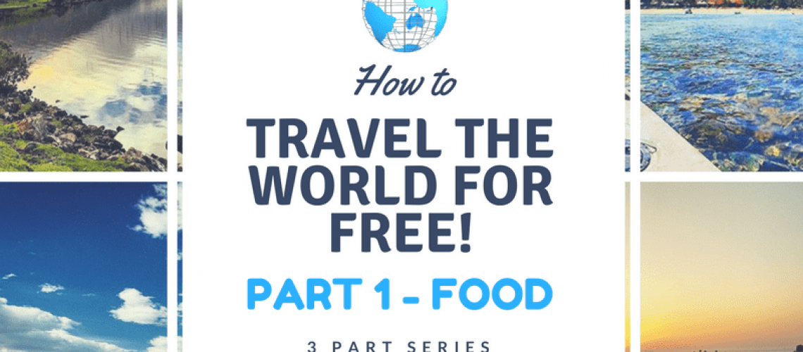 How to travel for free - food